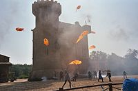 Wikipedia:Featured picture candidates/Puy du Fou Castle attack ...