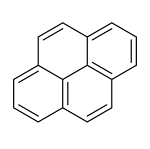 Pyrene chemical structure.png
