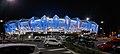 QCB Stadium illuminated for the Cowboys vs Cronulla Sharks Game in June 2020.jpg