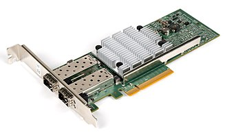 10 Gigabit Ethernet - Image: Qle 3442 cu 10gbe nic