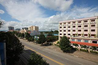 Quảng Ngãi City in Quảng Ngãi Province, Vietnam