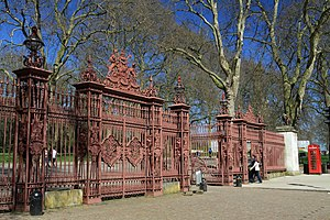Queen's Gate - The Queen's Gate of Kensington Gardens