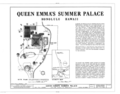 Queen Emma's Summer Palace, 2913 Pali Highway, Honolulu, Honolulu County, HI HABS HI,2-HONLU,24- (sheet 1 of 6).png