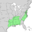 Quercus phellos range map 1.png