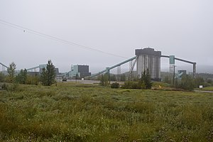 Tumbler Ridge - Quintette Coal Mine, Tumbler Ridge