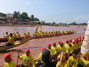 Nan River - A regatta on the Nan