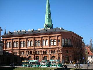 Art Museum Riga Bourse museum in Latvia