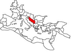 Dalmatia province, Roman Empire