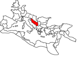 Dalmatia in the Roman Empire.