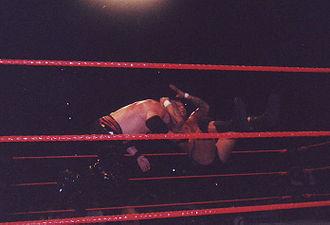 Cutter (professional wrestling) - Image: RKO 2006 finsiher