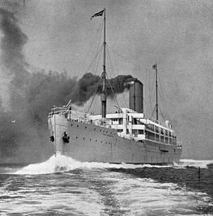 RMS Tahiti - Image: RMS Port Kingston 1904
