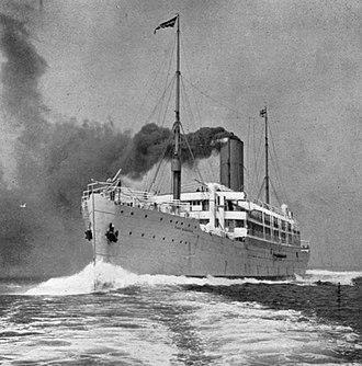 RMS Tahiti - Image: RMS Port Kingston 1904