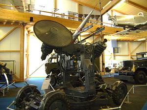RSA (missile) - Image: RSA Leitstrahl