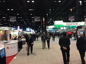 Radiological Society of North America - Image: RSNA 2014 Exhibit Hall South Nima 01