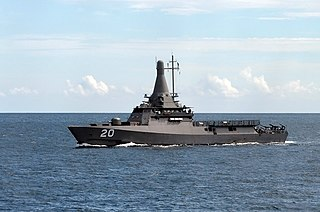 <i>Independence</i>-class littoral mission vessel