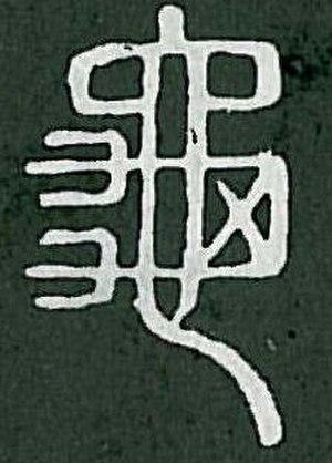 Radical 213 - Image: Radical 213 Shuowen