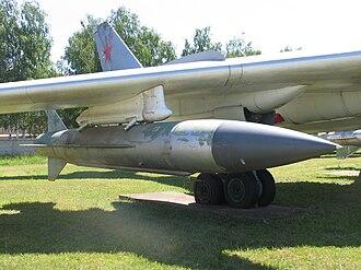 KSR-5 - Tu-16 with KSR-5 under wing