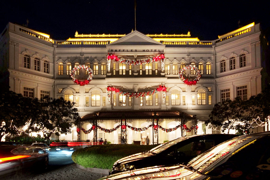 Image result for Raffles Hotel singapore