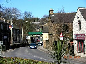 Dronfield - The old Sheffield-Chesterfield road in Dronfield