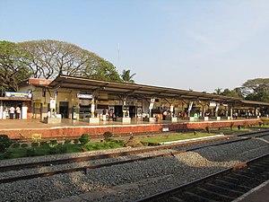 Kanhangad railway station - Image: Railway Station, Kanhangad
