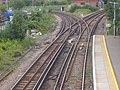 Railway lines west of Staines station - geograph.org.uk - 2261467.jpg