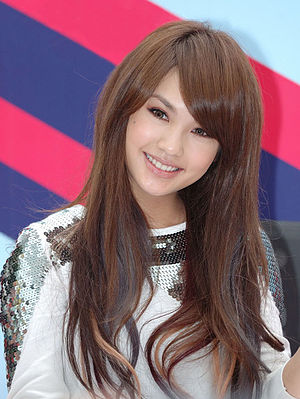 The Child's Eye - Actress Rainie Yang in 2010. Yang played a character named Rainie in The Child's Eye