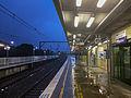 Rainy evening at Engadine Station 02.jpg