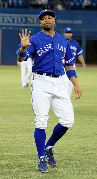 Rajai Davis - Davis during his tenure with the Toronto Blue Jays in 2012