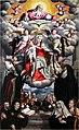 Ramazzani Ercole, Madonna della Cintura con i Ss. Agostino, Monica e altri santi agostiniani, 1580.jpg