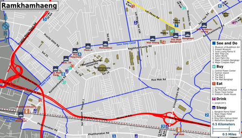 Map of Bangkok/Ramkhamhaeng