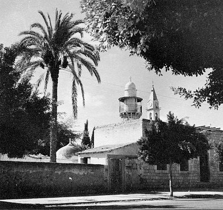 Ramleh mosque 1948 from Palmach archive Ramleh mosque 1948.jpg