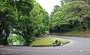 Ramsey Hairpin - Image: Ramsey Hairpin geograph.org.uk 469730