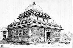 Rani Sipri's Mosque - Rani Sipri Tomb drawing, 1890