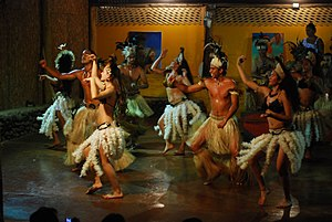 Music of Easter Island - Traditional musical dance of Rapa Nui (Easter Island).