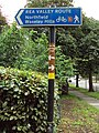 Rea Valley cycling route sign, Kings Norton.JPG
