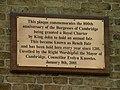 Reach Fair 800th Anniversary plaque - geograph.org.uk - 1206532.jpg