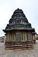 Rear view of the shrine in Akkana Basadi at Shravanabelagola.jpg