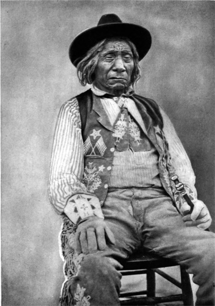 Red Cloud, the Old-time Warrior, Totally blind, 1903.png