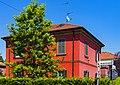 Red house on Via Marconi, Crespi d'Adda.jpg