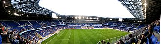 Red Bull Arena (New Jersey) - Red Bull Arena internal view