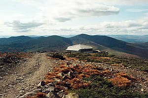Sugarloaf Mountain (Franklin County, Maine) - Image: Redington and The Crockers from Sugarloaf