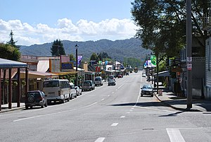 Reefton - The centre of Reefton