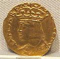 Regno di napoli, carlo V imperatore, oro, 1516-1556, 01.JPG