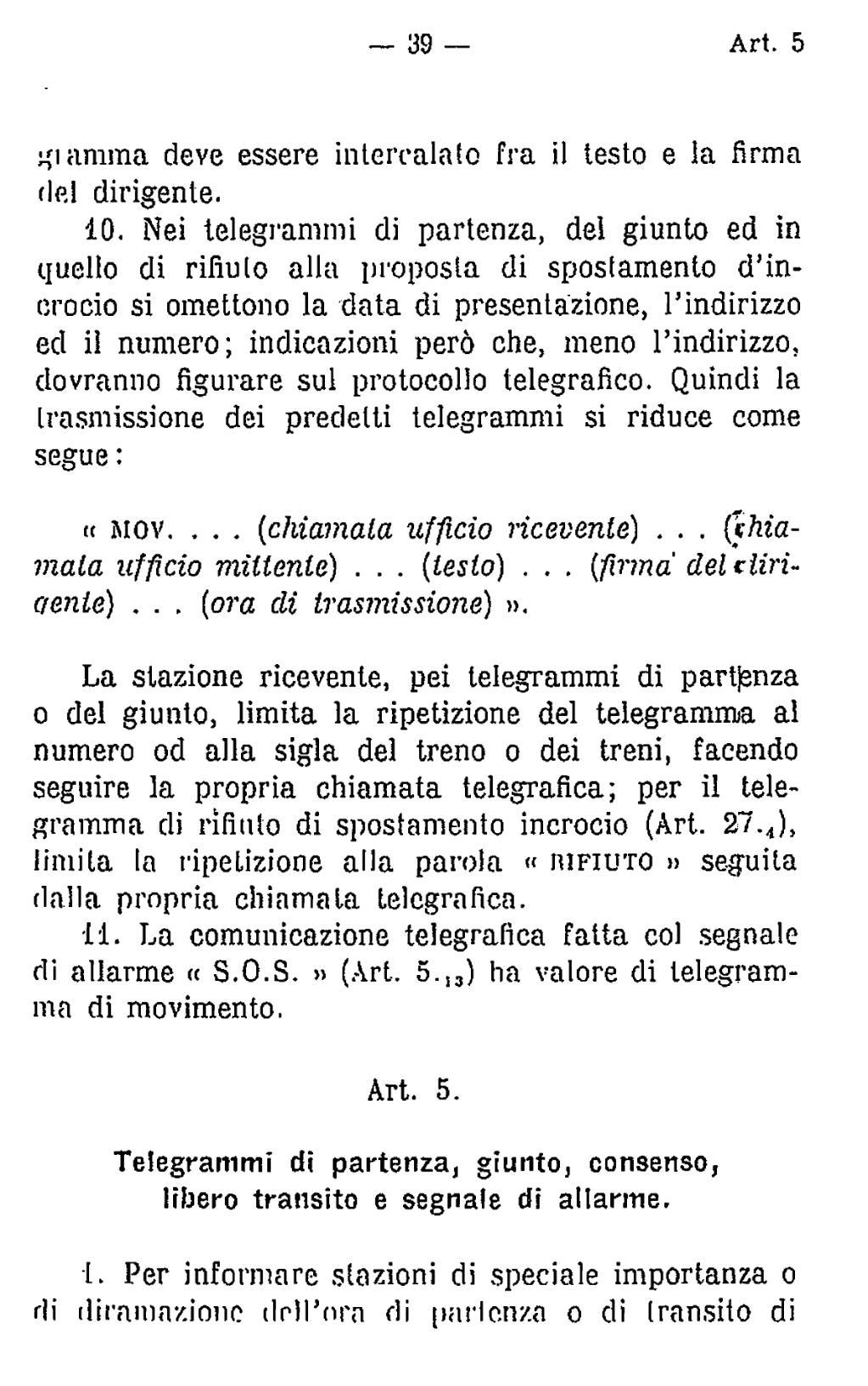 Paginaregolamento Circolazione Treni 1936djvu14 Wikisource