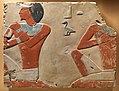 Relief with two officials or sons of the Vizier Dagi MET DP322062.jpg