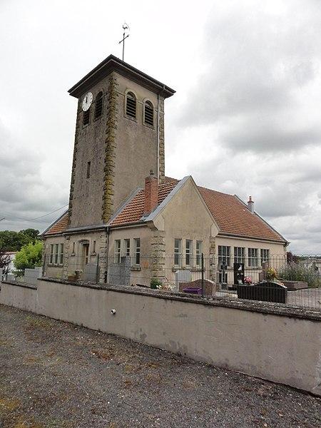 Remoncourt (M-et-M) église