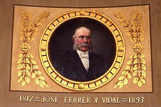 Portrait of Josep Ferrer i Vidal