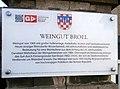 Rhöndorf Karl-Broel-Straße 2 Weingut Broel Informationstafel.jpg
