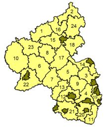 Рейнланд-Пфалц-Административно деление-rhineland p map