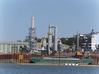 Rhodes, New South Wales - Remediation by soil desorbtion and incineration